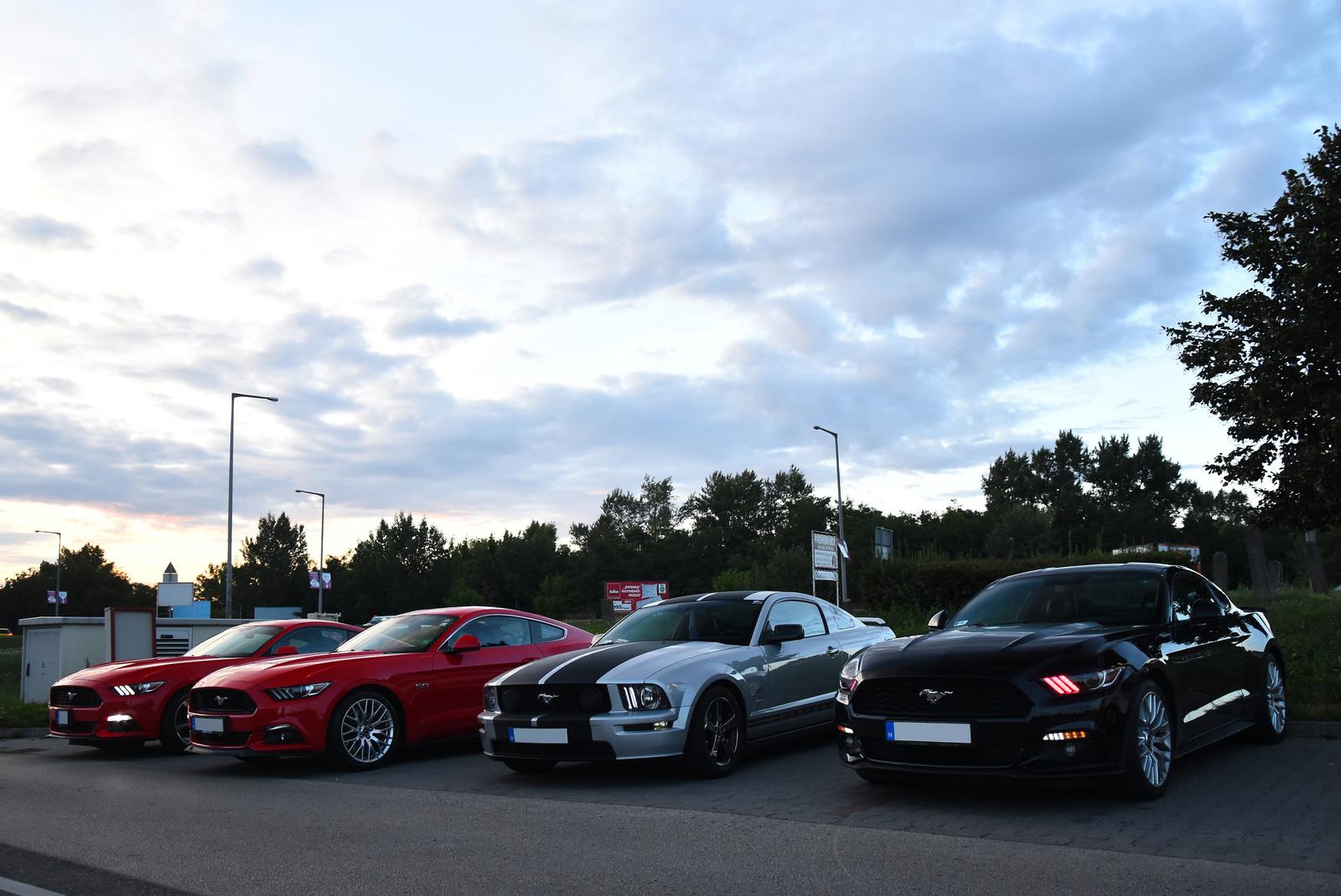 Ford Mustang találkozó