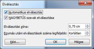 infoerettsegi: automatikus elválasztás word 2003 2.PNG