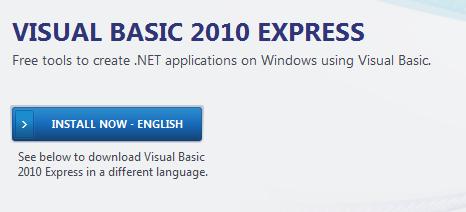 infoerettsegi: visualbasicexpress2010 01.png
