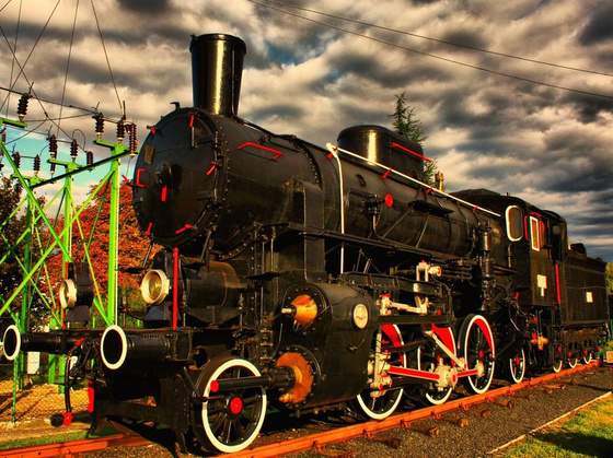 pauljavor: steam engine by pauljavor