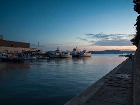 Fotokocka: Kikötő Zadarban