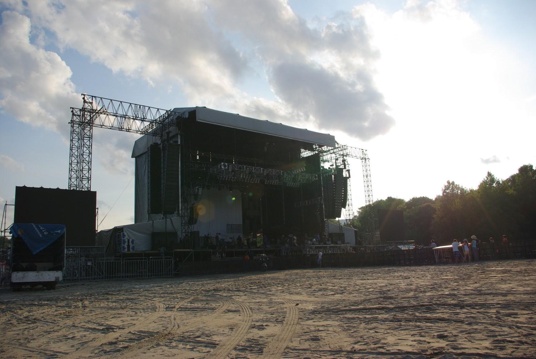 bdavd: Sziget 2010 - építés alatt
