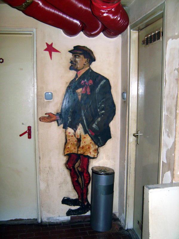 Lenin alsógatyában? Régen golyót ért!