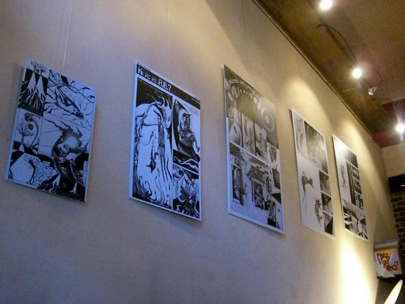 Aktuál kiállítás a falon