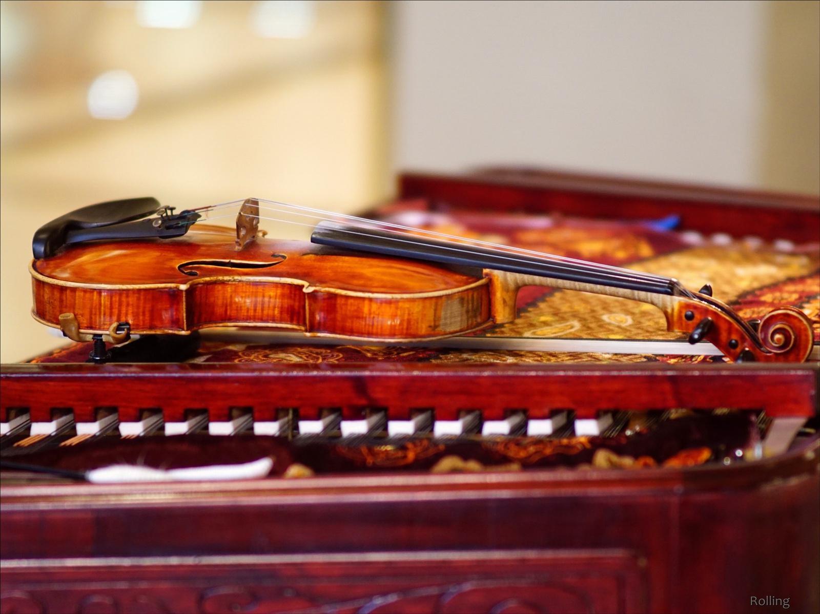A hegedű.