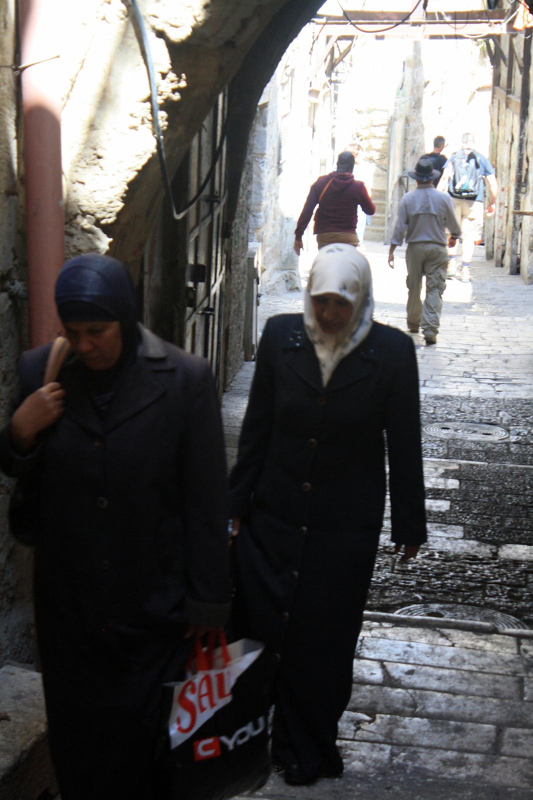 Jeruzsálem - muszlim negyed