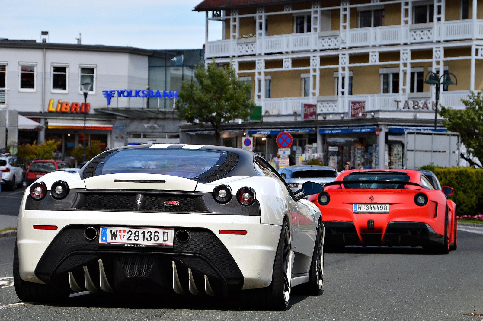 Ferrari 430 Scuderia Novitec Rosso -- F12 N-Largo