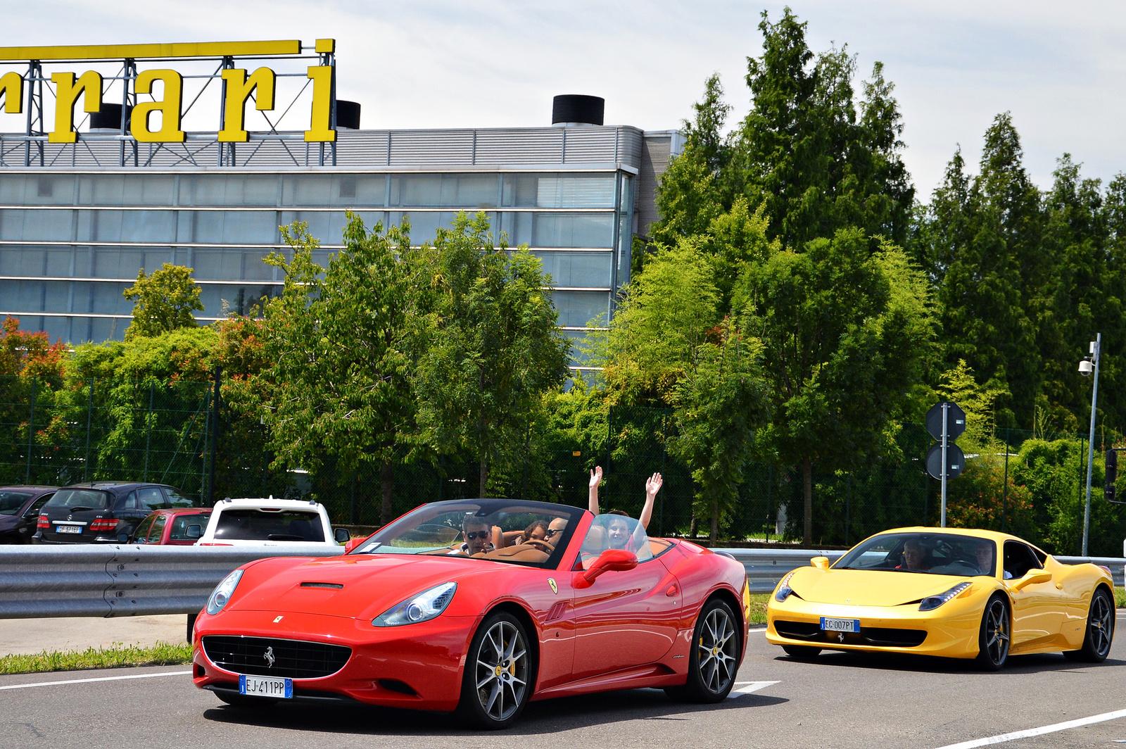 Ferrari California -- 458 Italia
