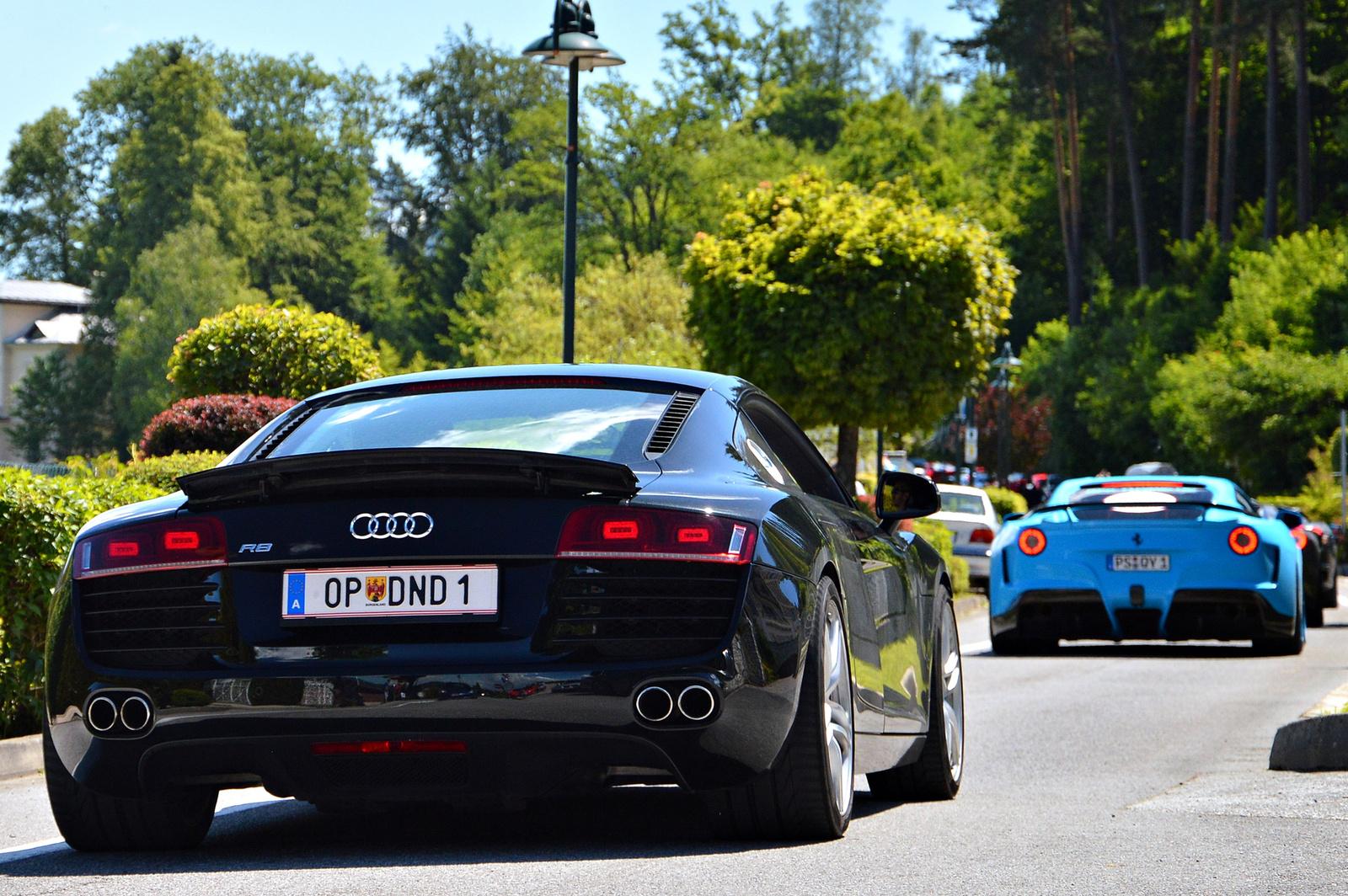 Audi R8 -- Ferrari F12 N-Largo