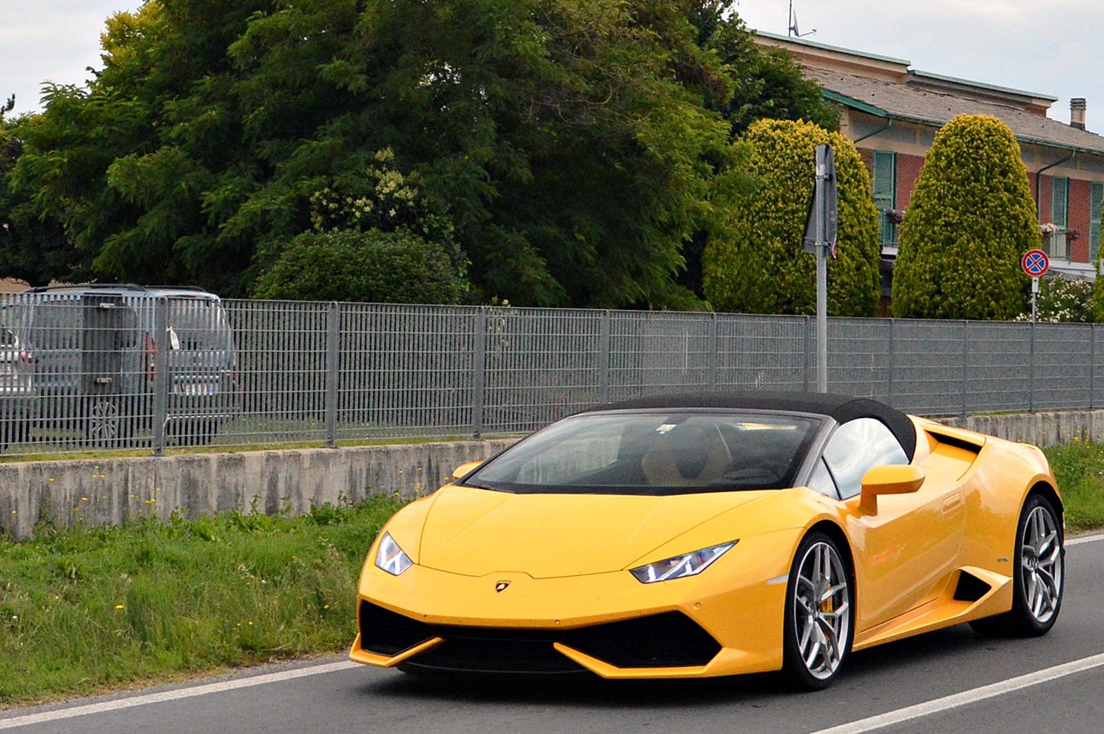 Lamborghini Huracán Spyder