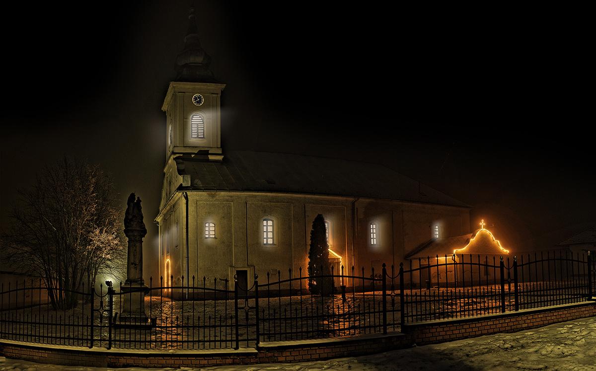 Tolmácsi templom álomban