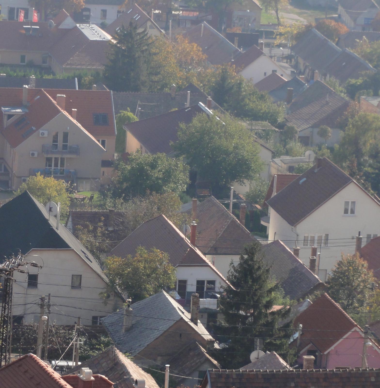 Budaörsi háztetők.