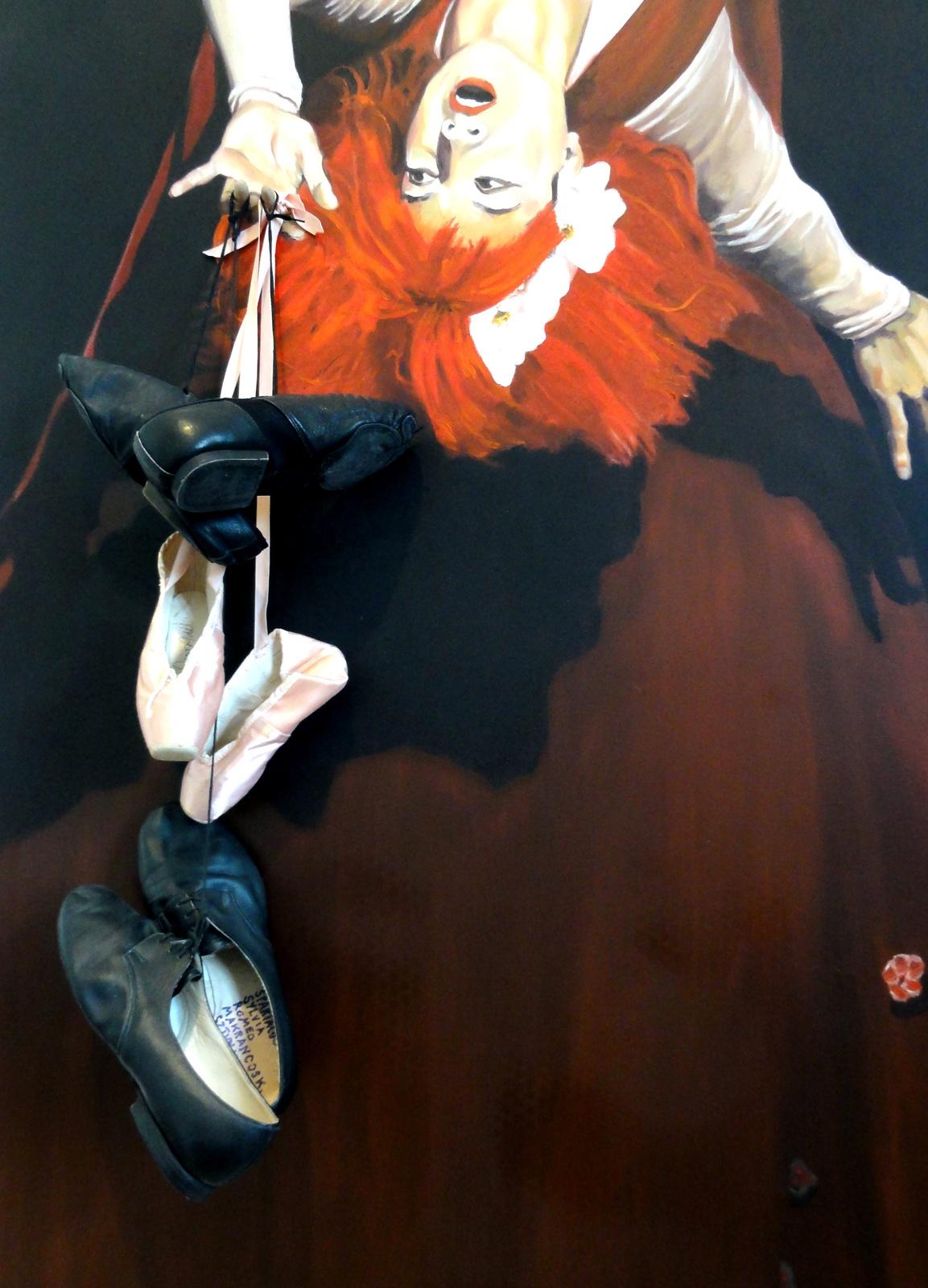 Orosz Adél, Markó Iván és Keveházi Gábor balettcipője.