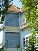 Budapest XI. kerület, Mányoki út 1. – Műteremház