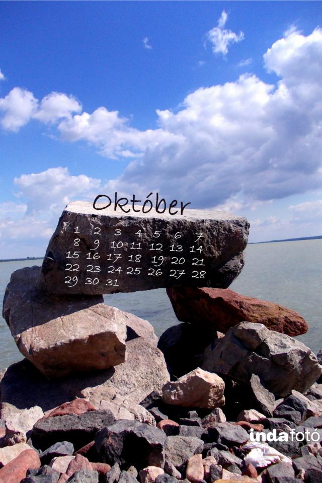 októberi mobil háttérkép