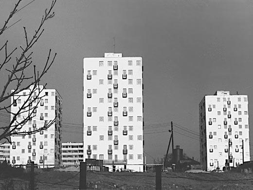 Budafoki kísérleti lakótelep 1967