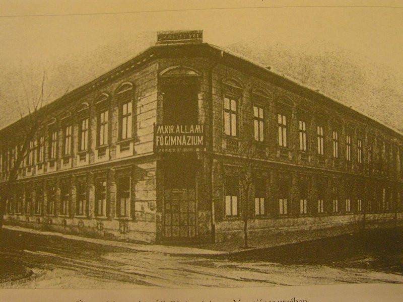 M. Kir. Állami Főgimnázium, Újpest