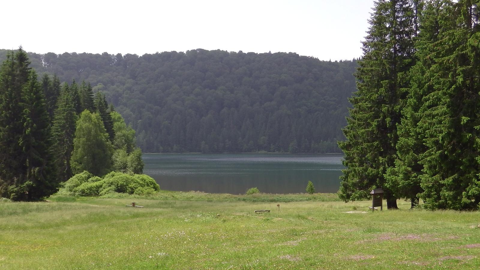 Szent Anna-tó kelet felől fotózva