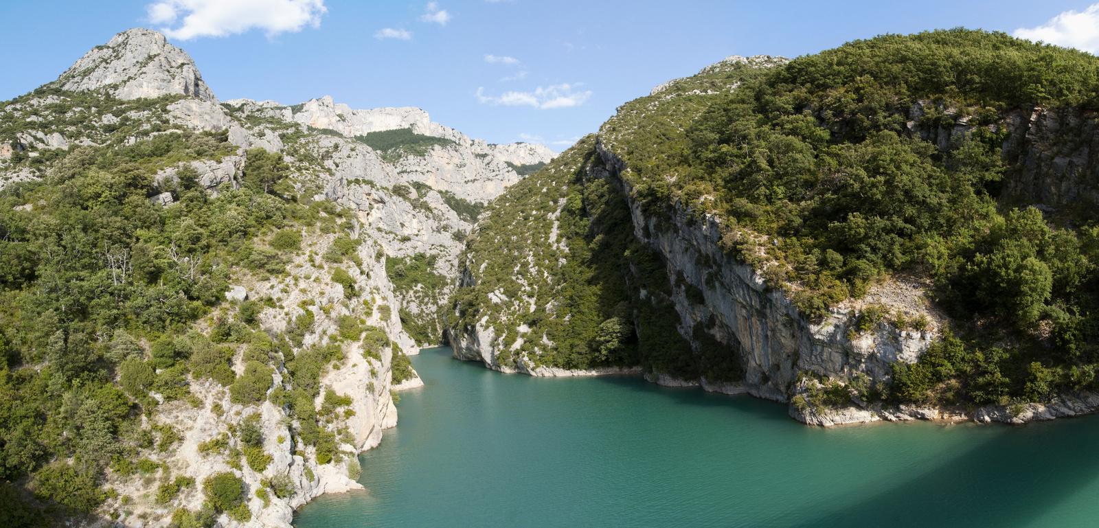 Provence Verdon szurdok