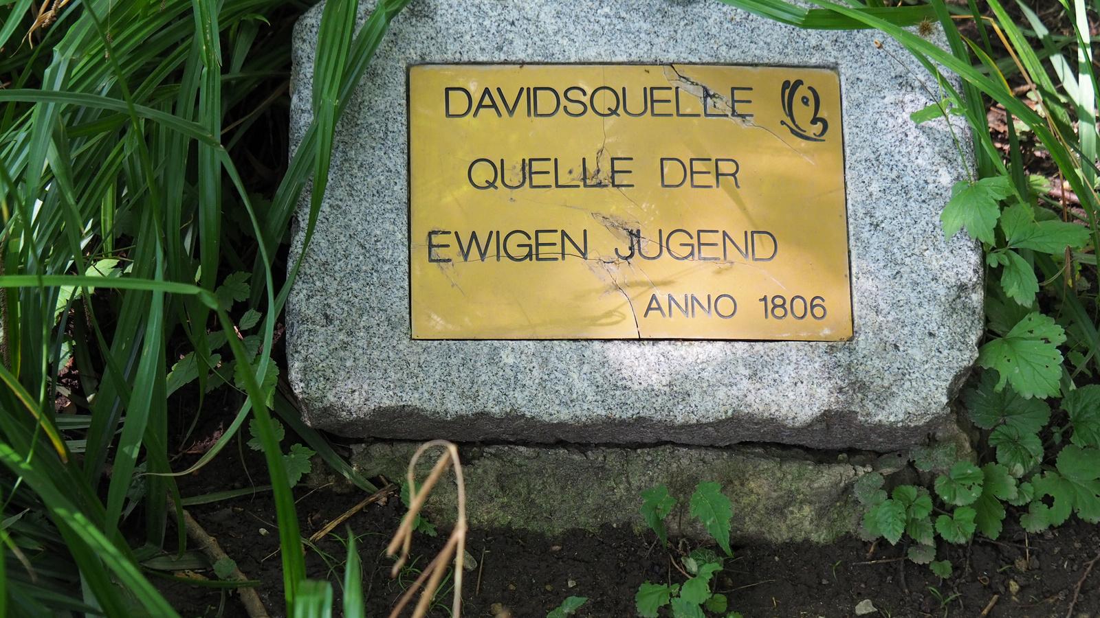 Bécs, Oberlaa, Kurpark, Davidsquelle, SzG3