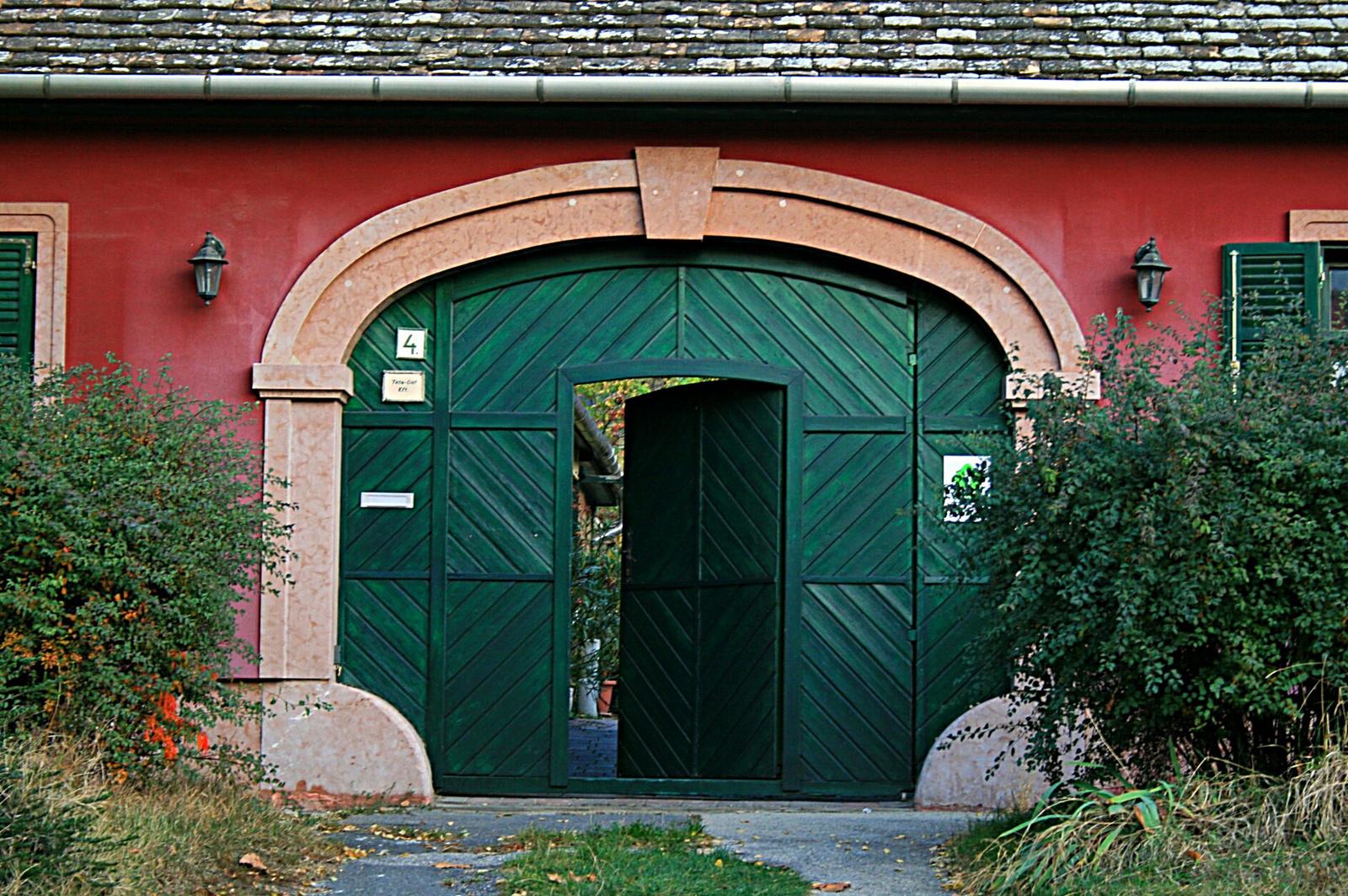 Kerékvetős kapu