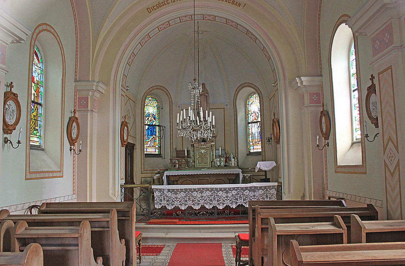 Mária Szeplőtelen Szíve kápolna - Eger