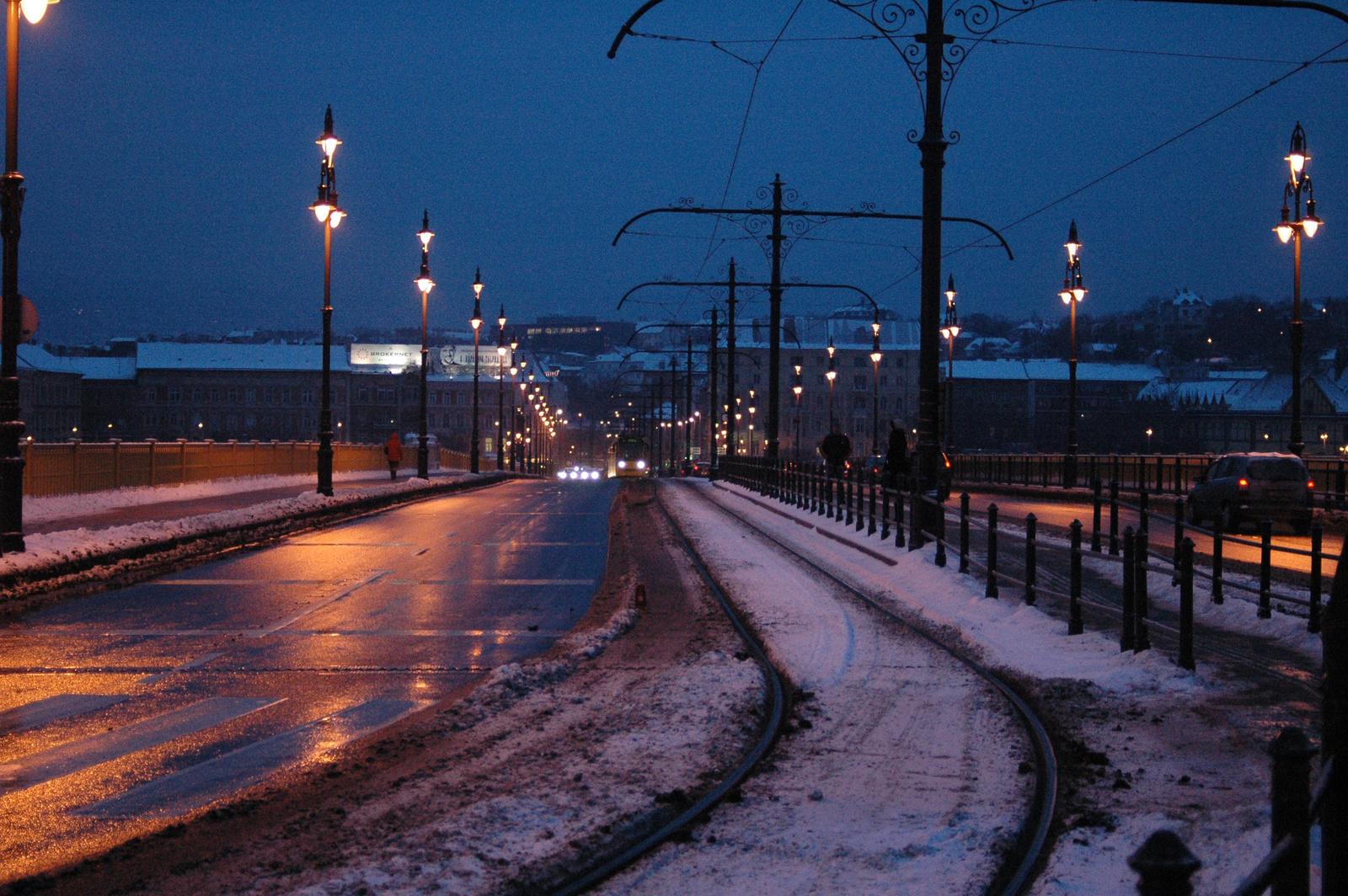 Margit híd egy téli estén