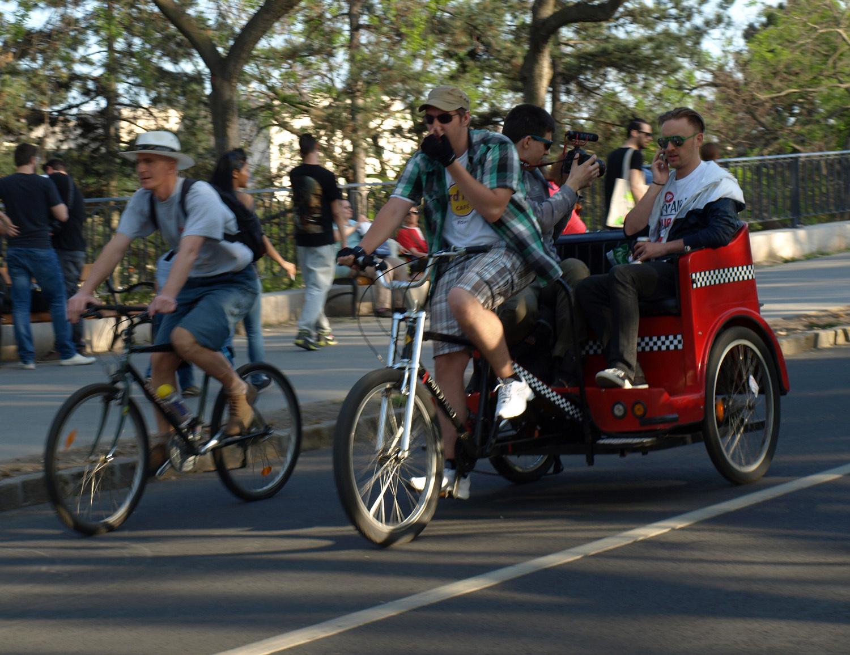 I Bike Budapest 2015 - biciklis felvonulás