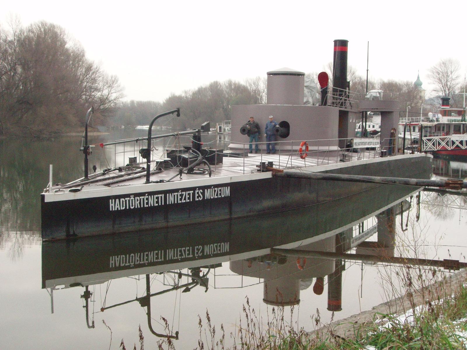 08. A Lajta Monitor Múzeumhajó Neszmélyben