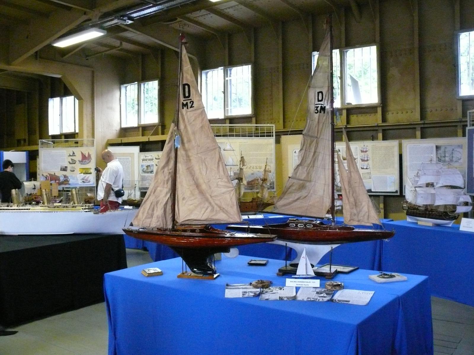 Vitorláshajó-modellek