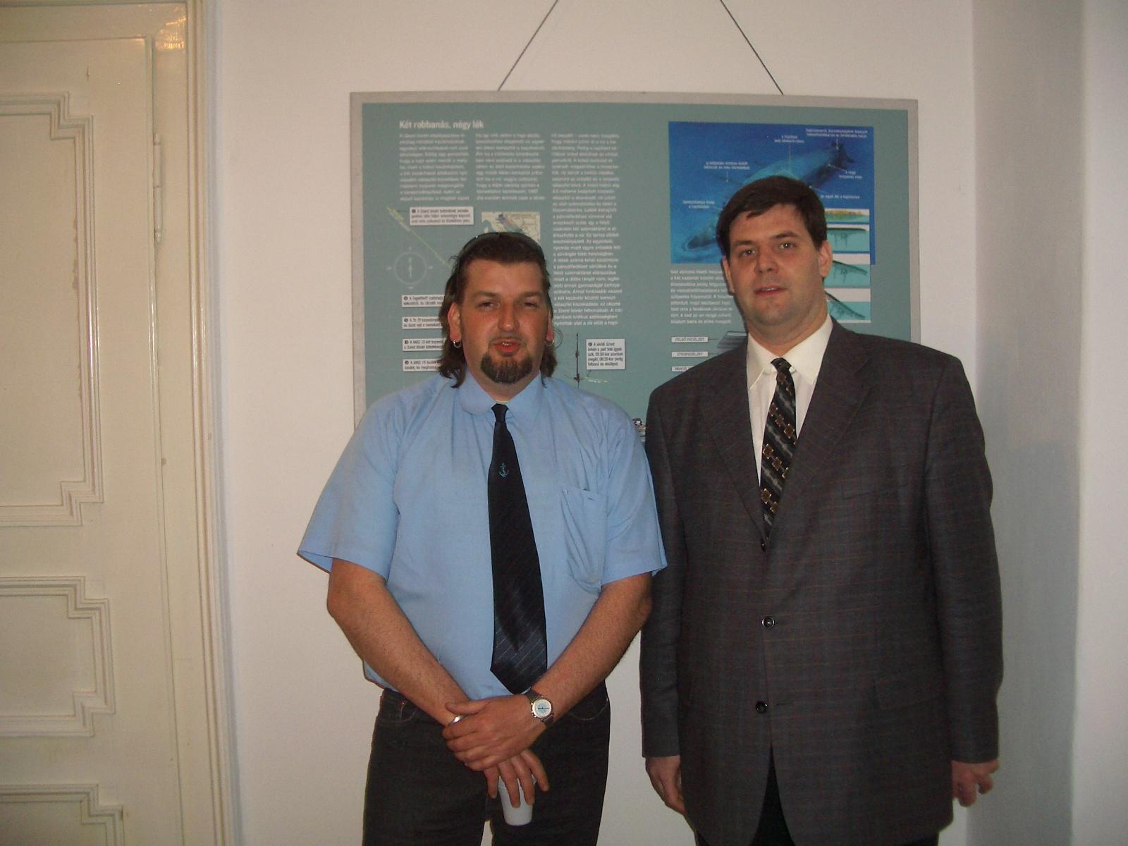 Pásztói Róbert és Dr. Balogh Tamás