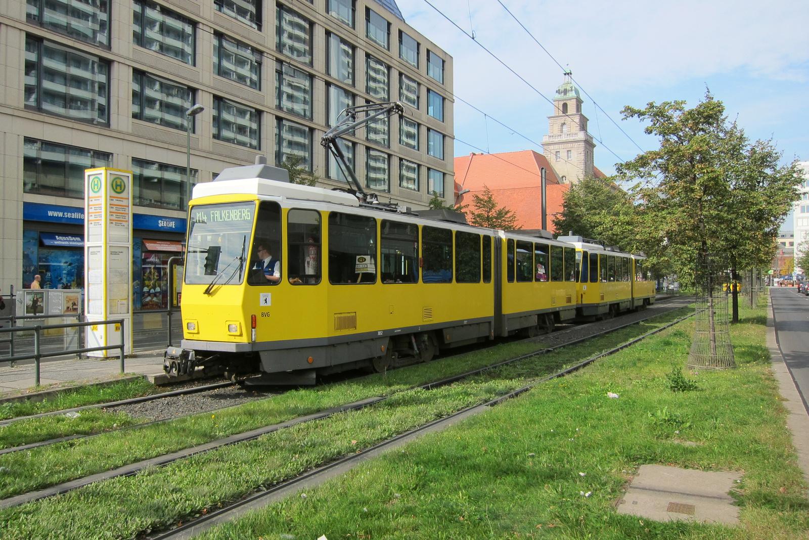 Villamossín Berlinben