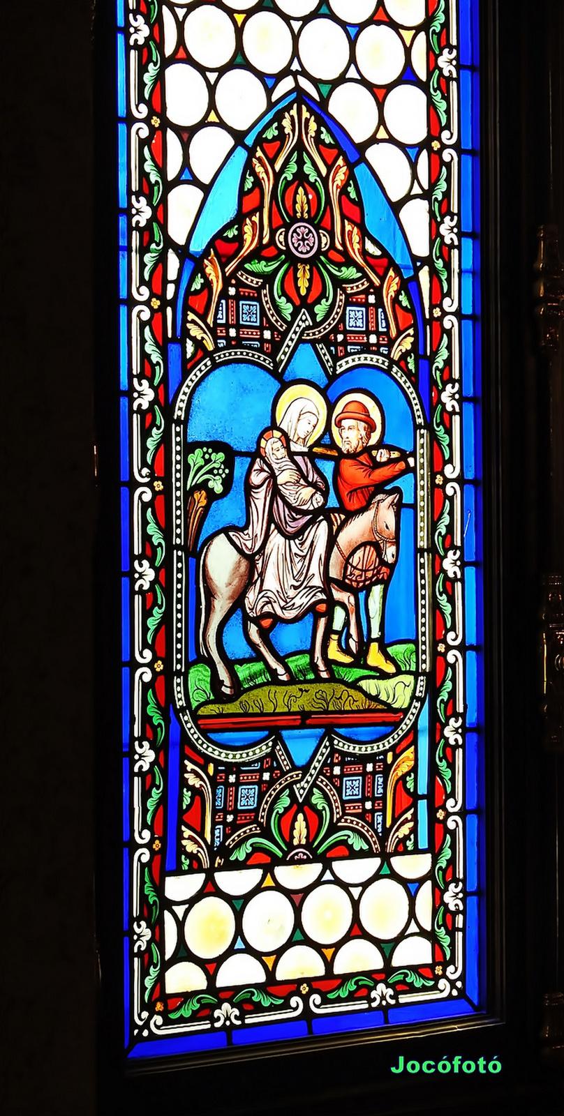 Ólomüveg ablak 1416