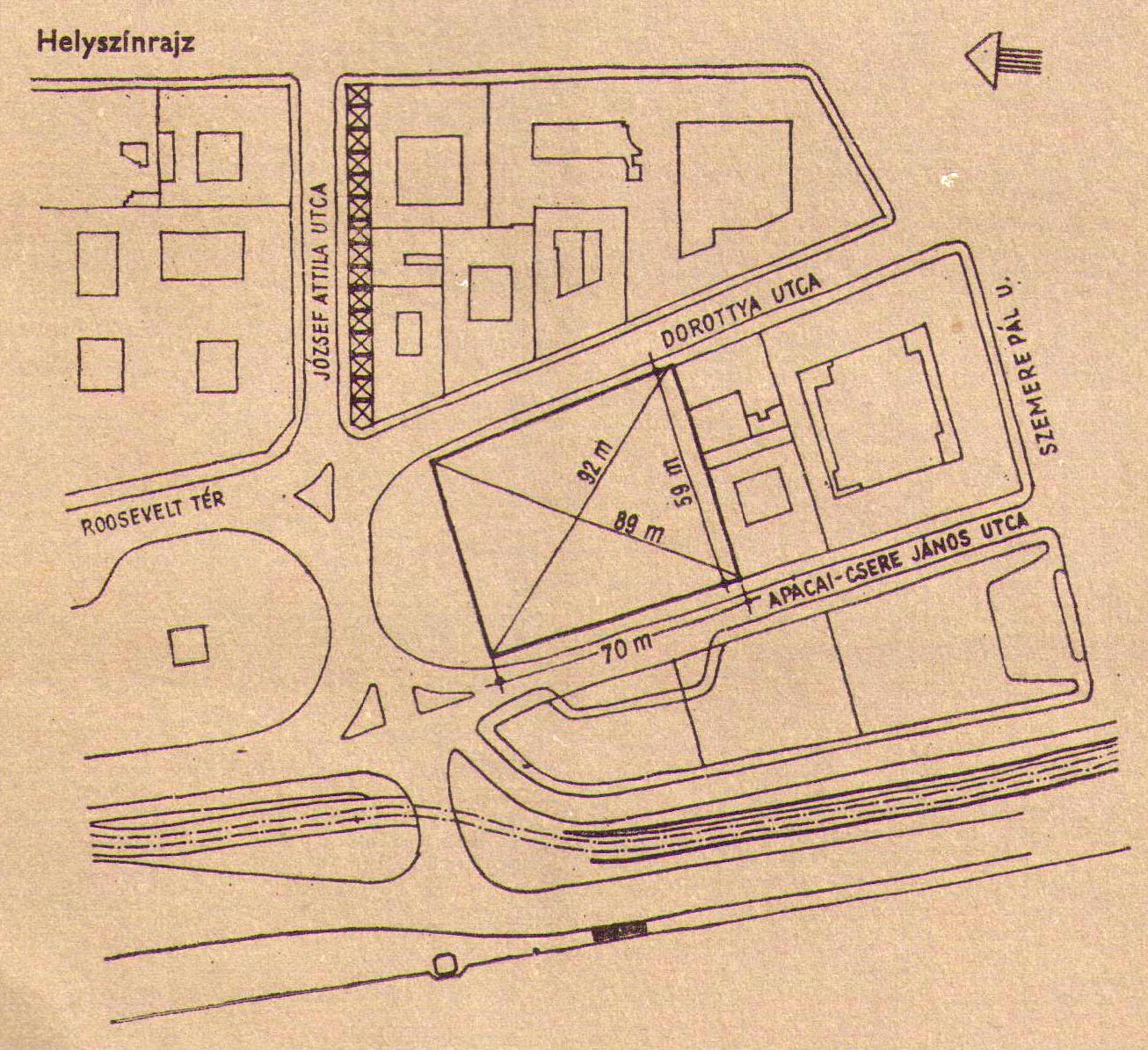 MTA-1963-Palyazat-Helyszinrajz