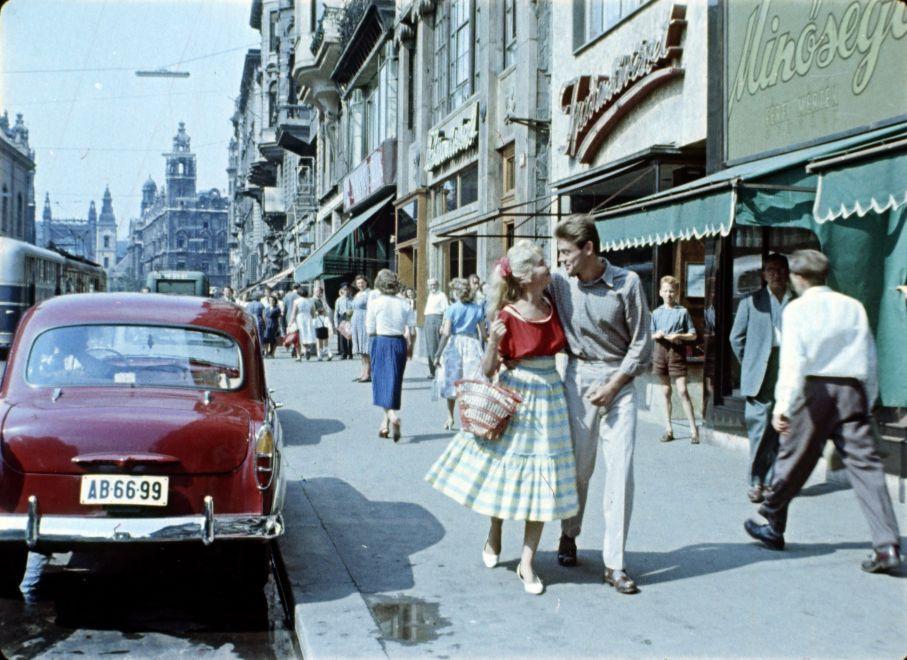 KossuthLajosUtca-1957Korul-fortepan.hu-174825