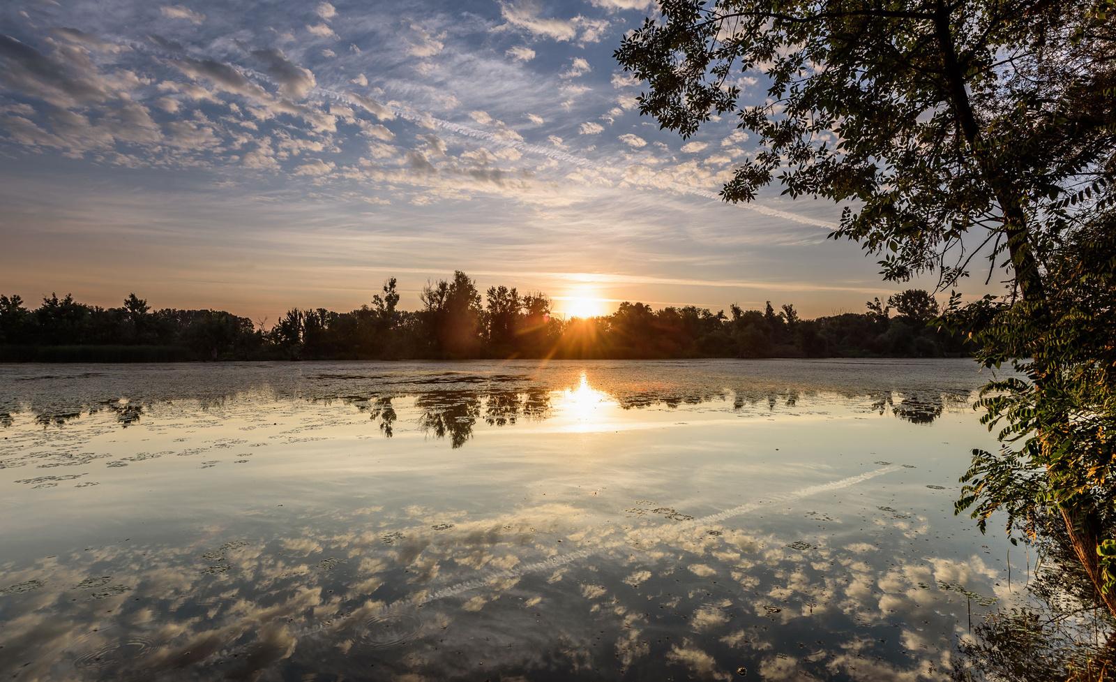Hajnali tükörkép