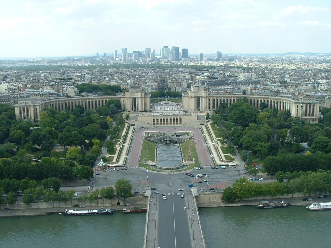 Eiffel tájkép