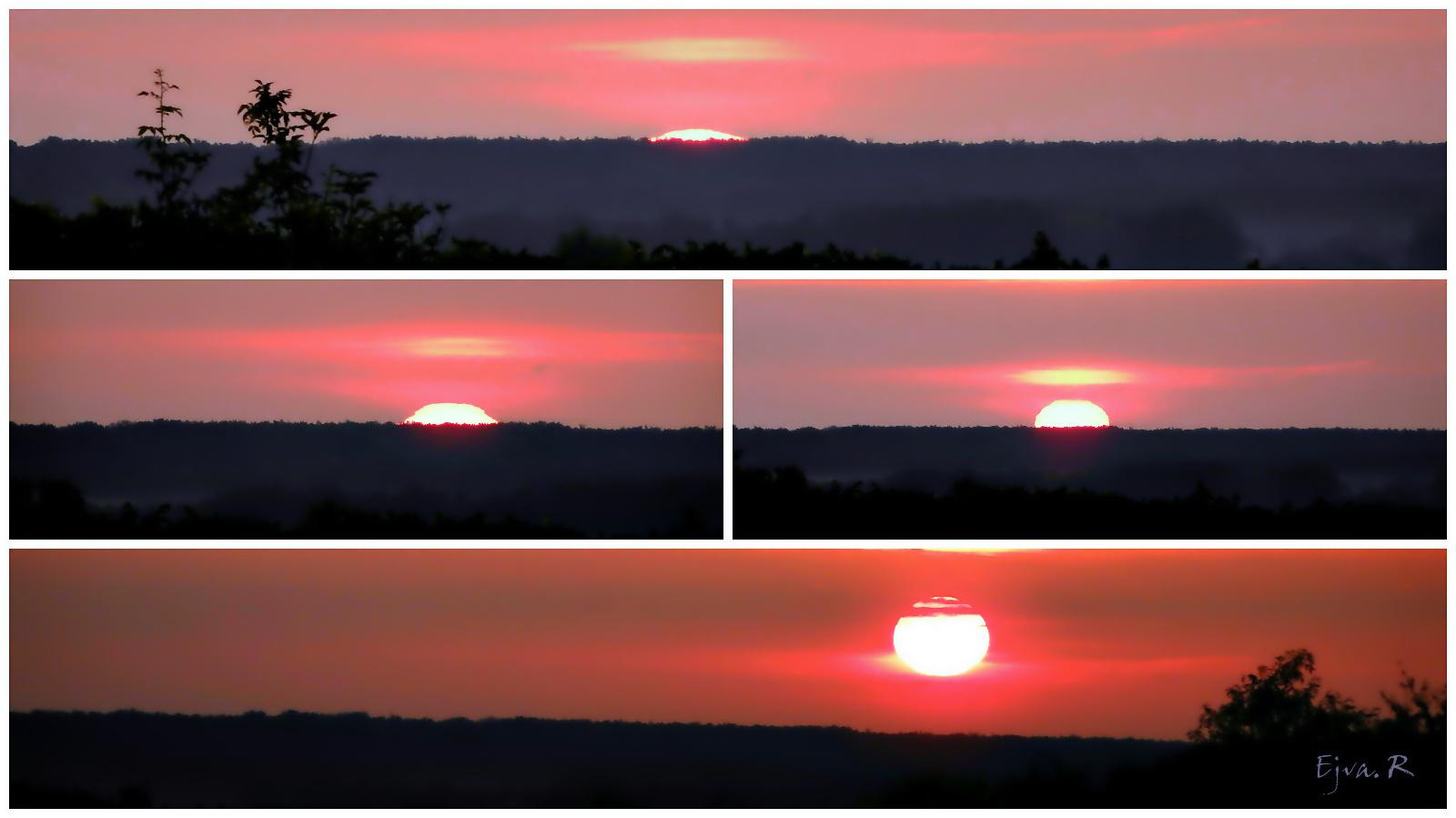 Napfelkelte percről-percre