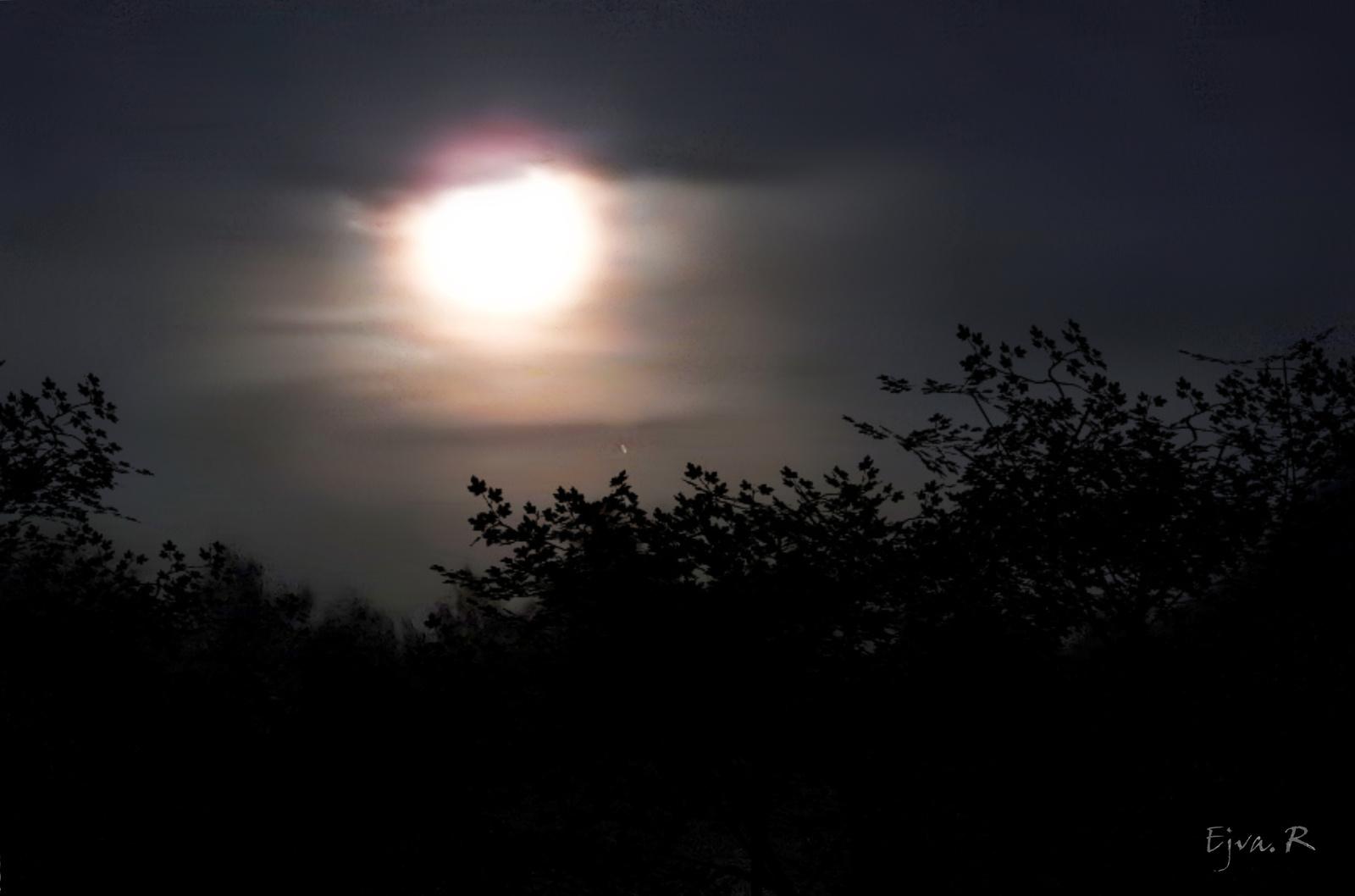Csendes éjszaka Holdfény