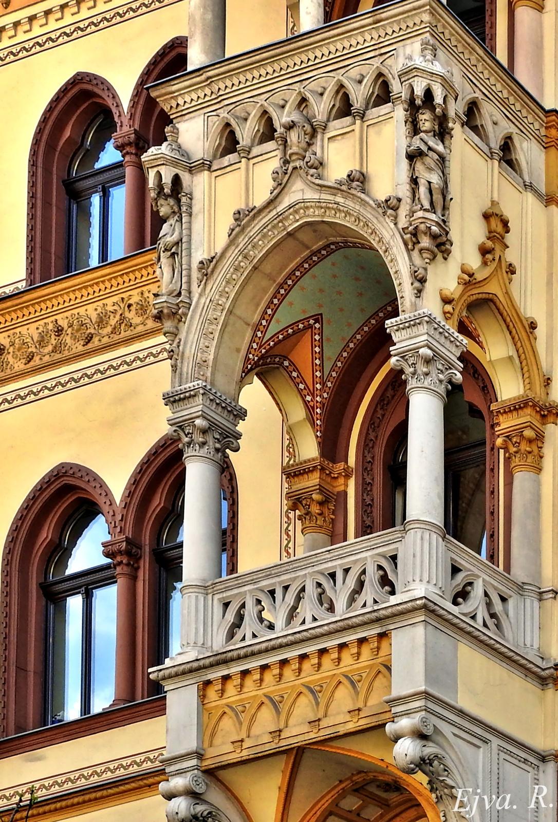 Épület Részlet Budapest
