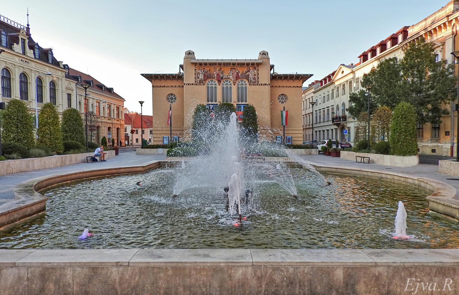 Színház Sopron Szökőkút