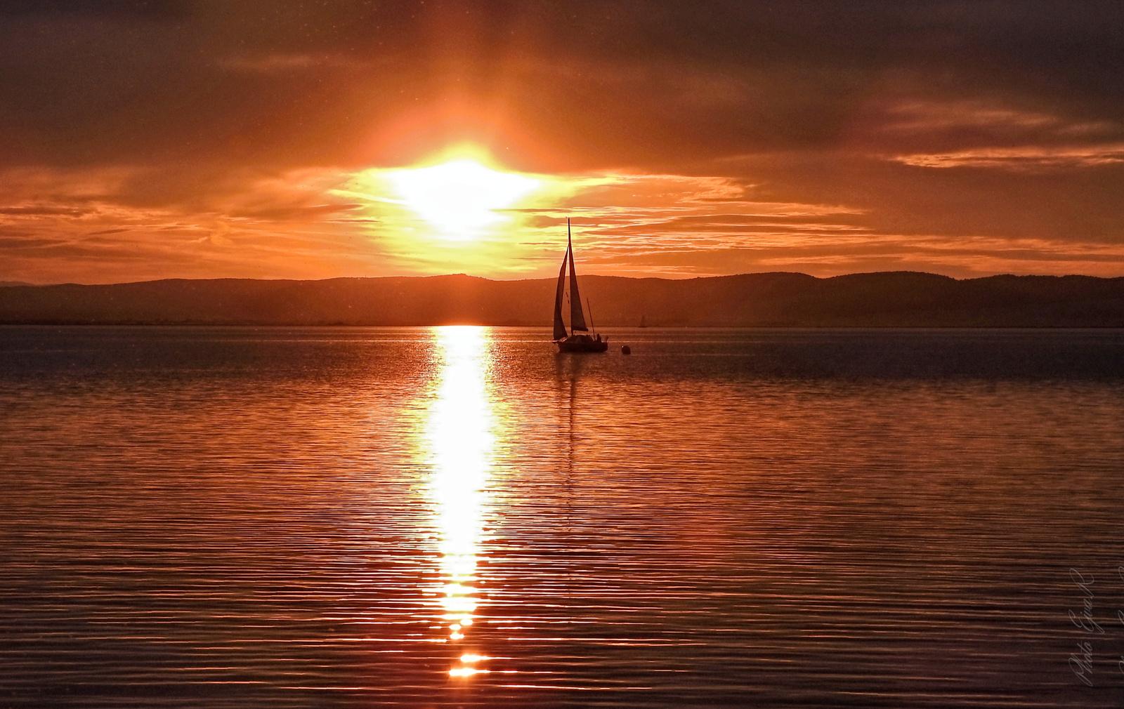 Aranyhíd/ Fertő tó/ Ősz