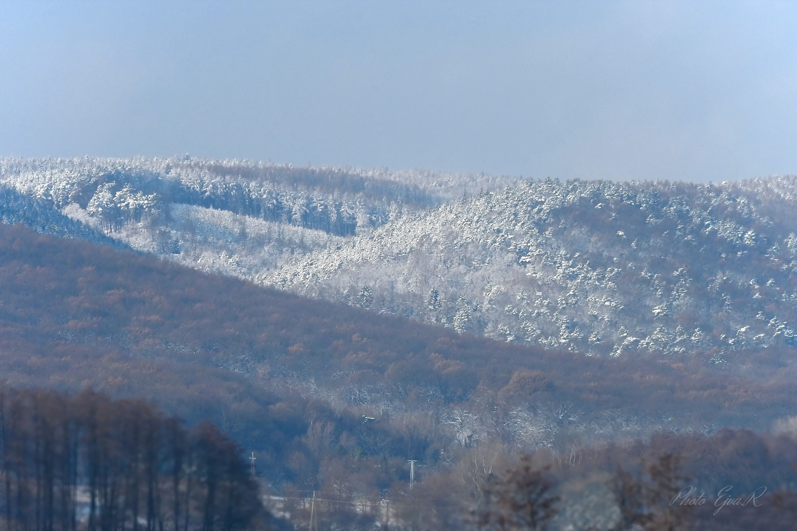 Tél Hegy Hó