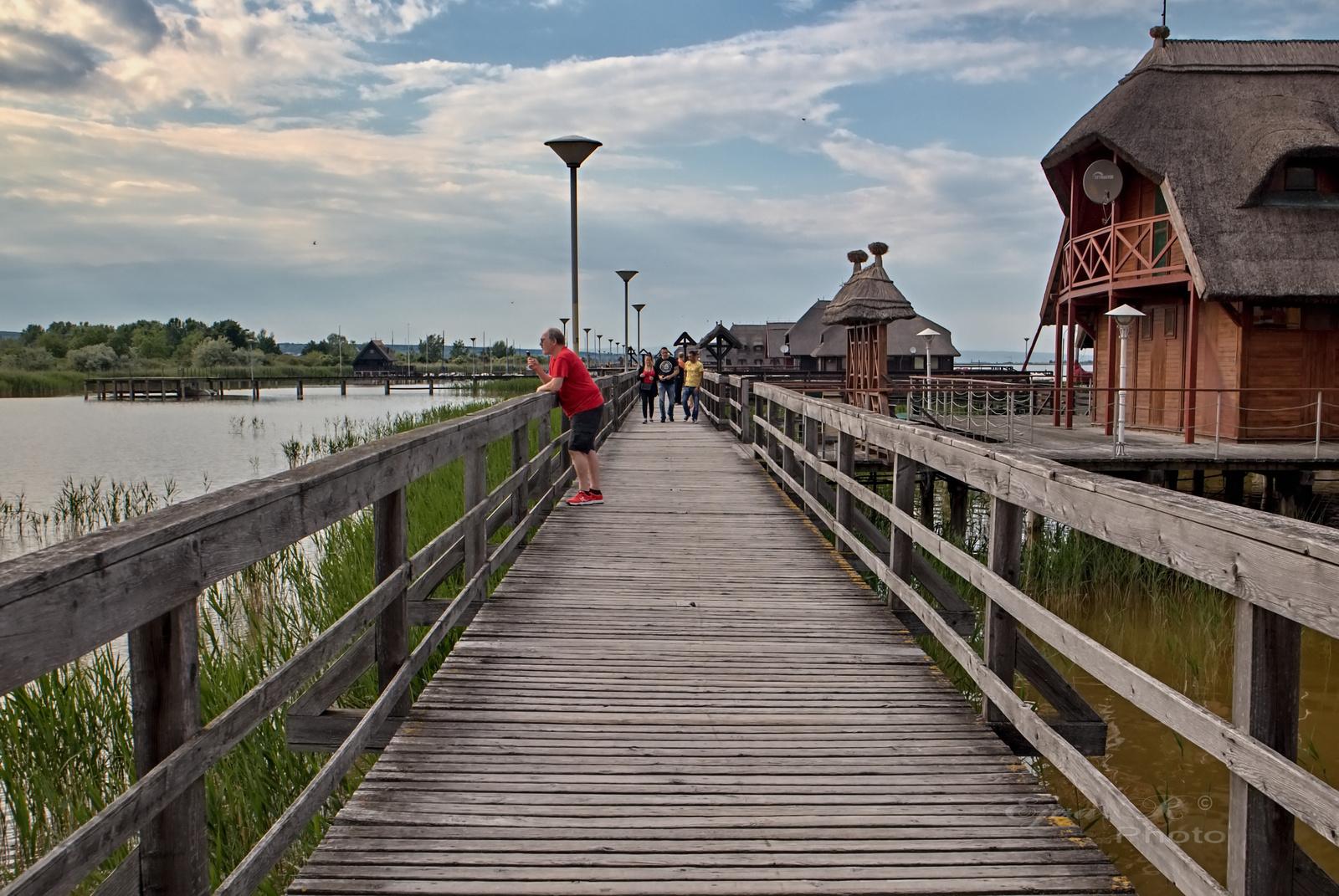 Cölöpházak Fertő tó