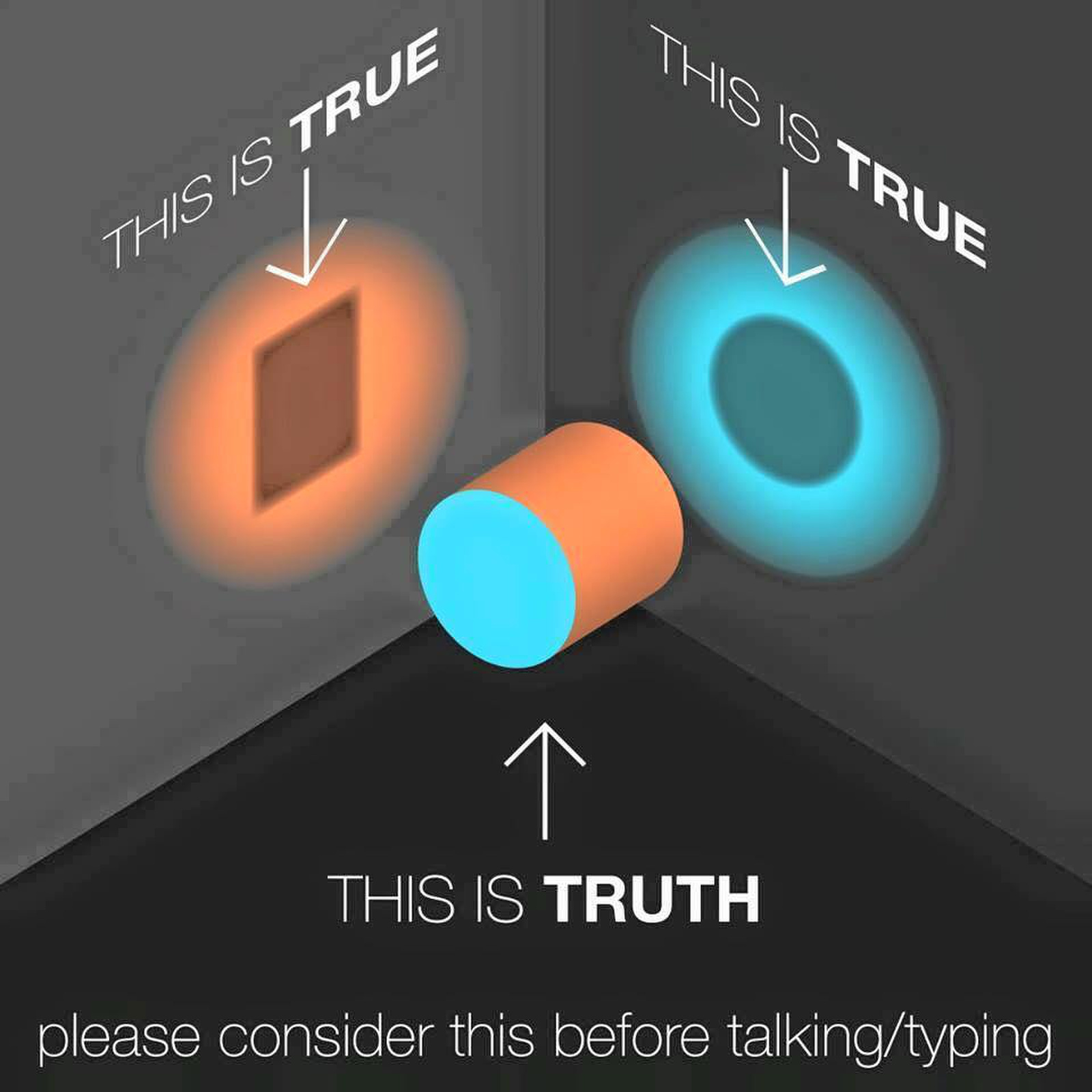 truth is multi-faceted 1437849255
