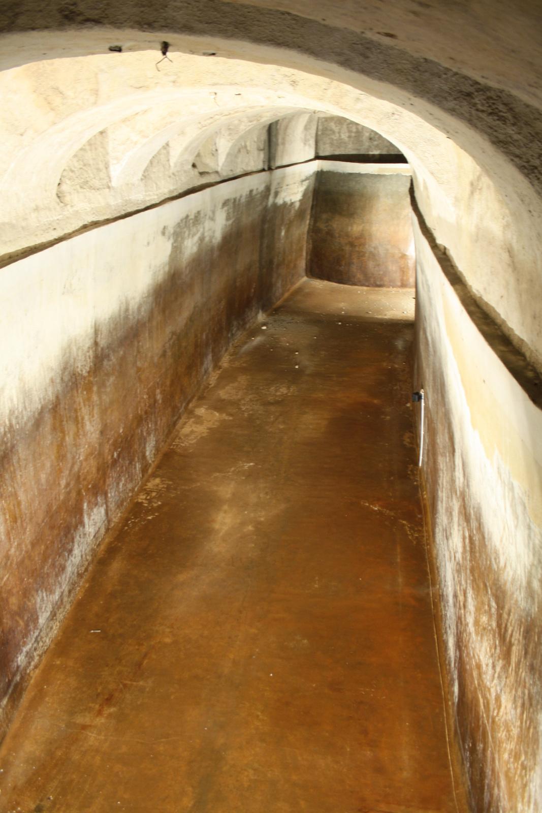 1.000.000 liter víz helye-földalatti víztároló