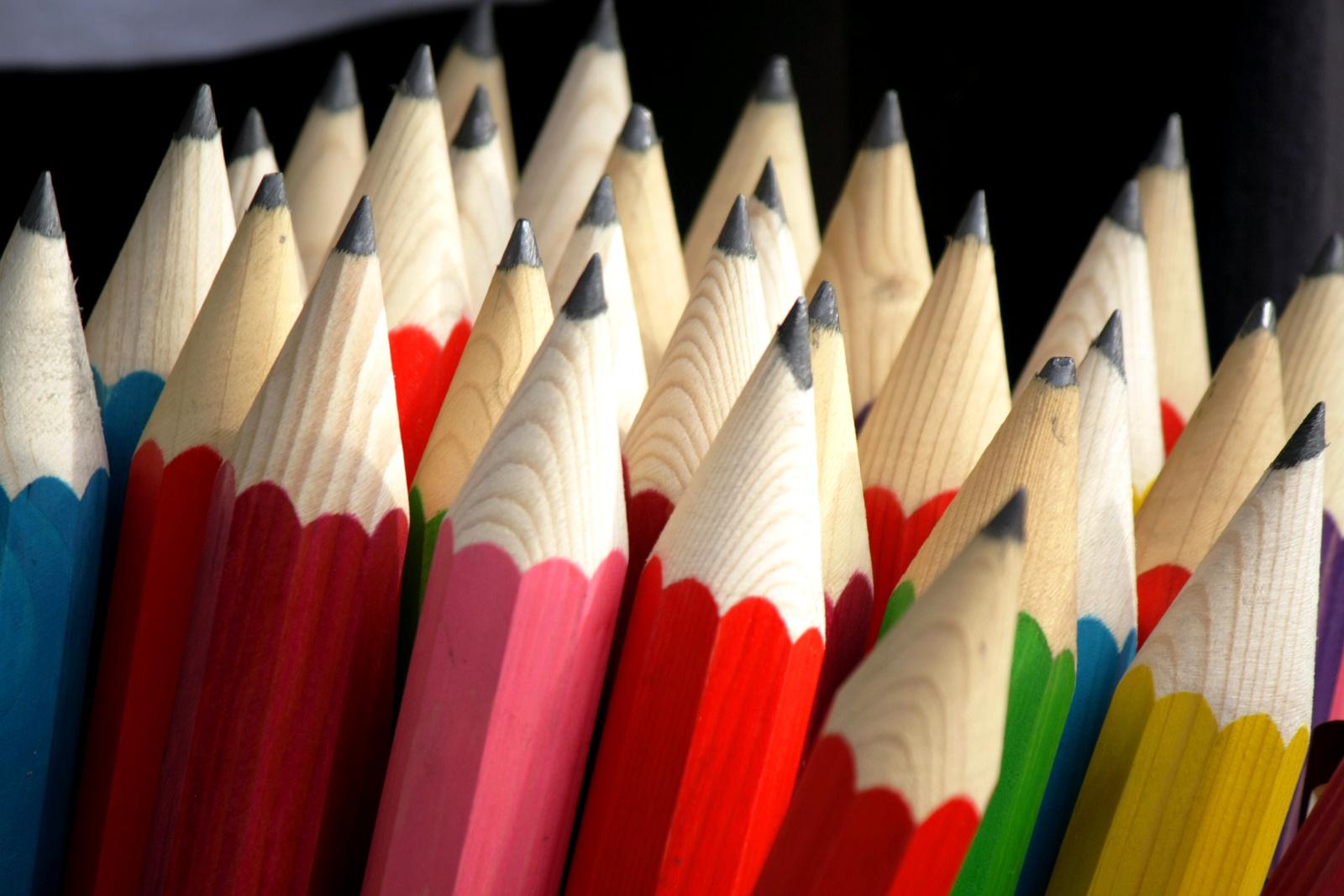 Ceruza hegyek.
