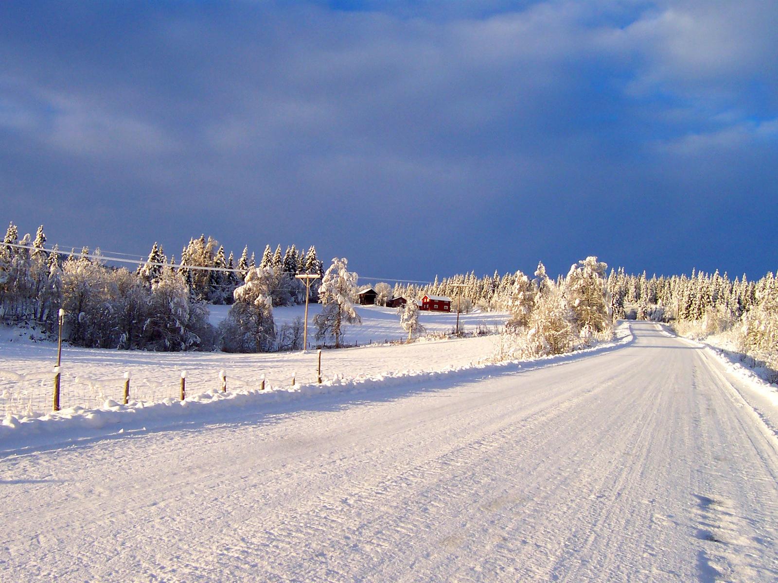 Téli úton