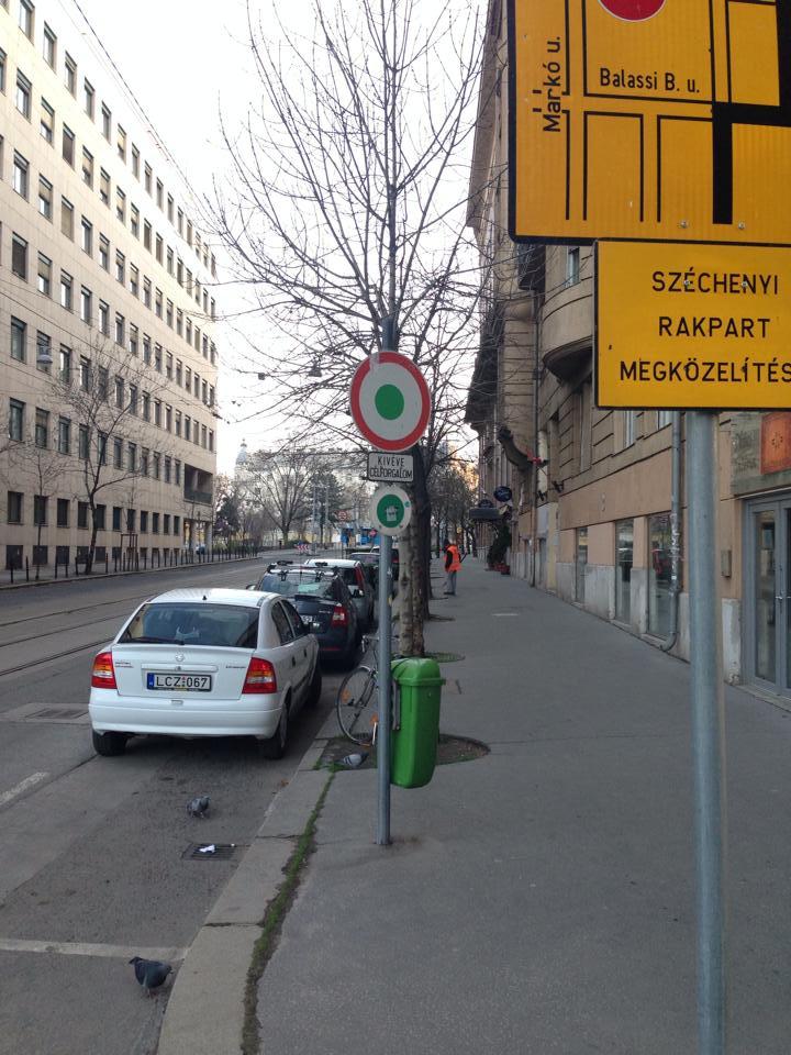 V.kerület Balassi Bálint Balaton utca sarka - fotó: Kövér Csaba