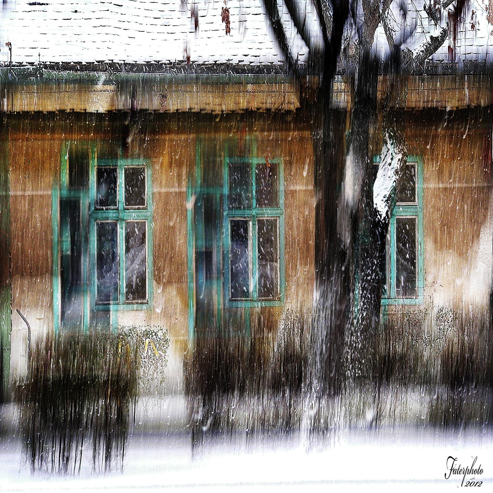 hóesés Budaőrsőn